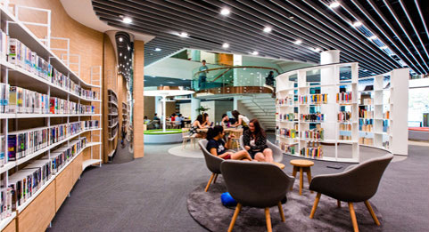 Li Ka Shing Library, Singapore Management University